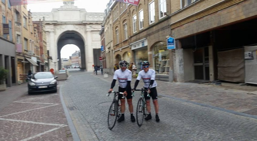 Rye Wheelers visit Ypres and the Menin Gate, 13-06-2106.