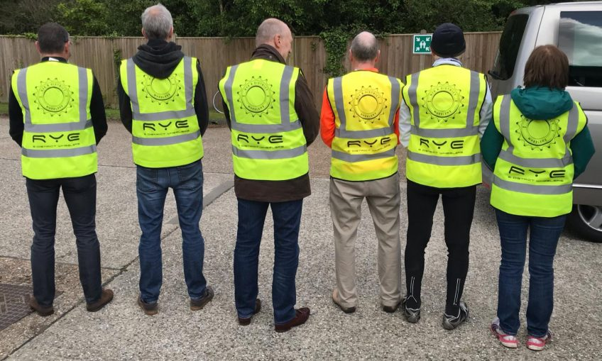 Wheelers get personal with Hi-Viz!